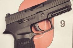 Sig Sauer P320, 9mm, 17 rnd mag